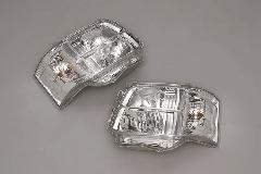�V型HEAD LIGHT(Chrome)