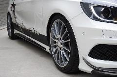 A-Class W176用 s.d.f star design factory社製 Carbon Hybrid Side spoiler
