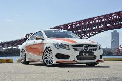 CLA C117用 s.d.f star design factory社製 Painted Front lip spoiler Type A