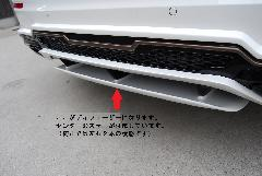 E-Class W213用 s.d.f star design factory社製 FRP Paint Rear diffuser