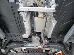 E-Class W213 Front & Center muffler