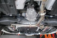 C-Class W205 & S205 Rear muffler All stainless(C43 C450)