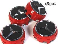 AMGホイールセンターキャップ Edition1 RED