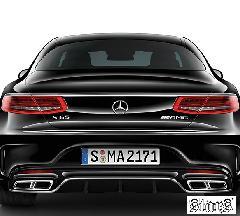 Mercedes-Benz AMG R/Diffuser+Muffler End S65