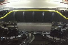 A-Class W177 star design factory社製 Rear muffler <Half stainless>