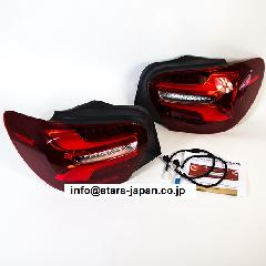 s.p.o 後期Tail light set+Installation kit A-Class W176前期用