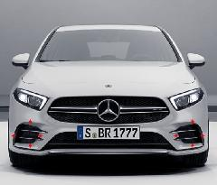 AMG A35 Front bumper duct