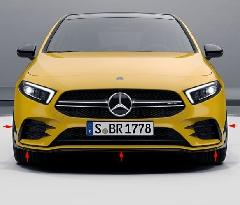 AMG A35 Front spoiler + Flaps