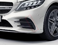 Mercedes-Benz AMG C43 フロントバンパーフラップ