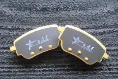 A-Class W177 s.d.f star design factory社製 Low dust brake pad (Rear)