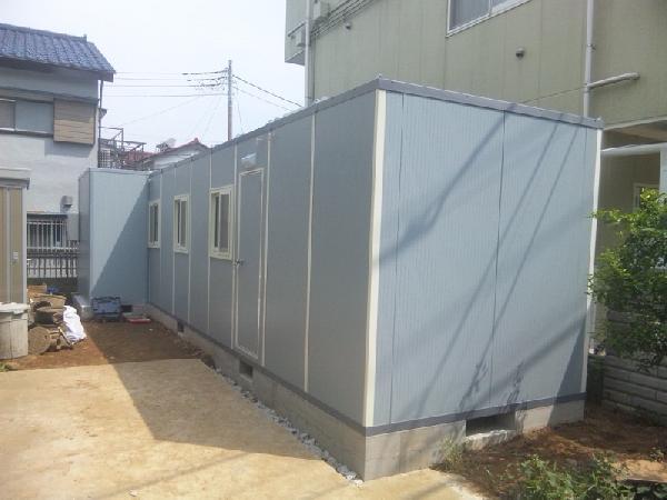 K型10連棟+B型浴室