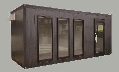 PB-3型 単棟 黒木目 店舗ドア仕様 展示販売品