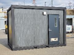 L-UB-36型浴室ハウス 黒木目仕様