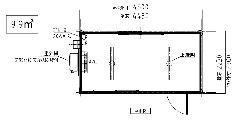 ALB-45型 エアコン付きユニットハウス黒木目仕様