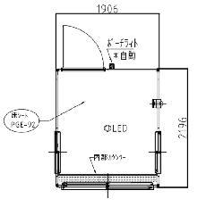 SB-0型ガードマンハウス 黒木目仕様