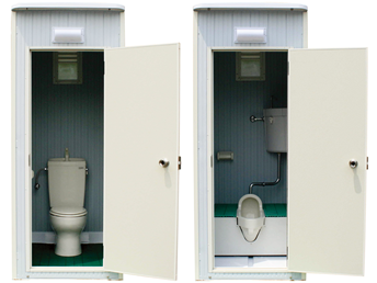 地下・高層階用トイレ