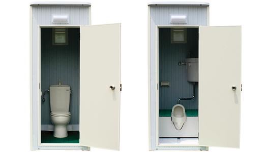 地下高層階用トイレ