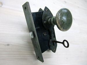ドアノブアンティークピューター ADP-01