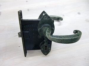 レバーハンドルアンティークピューター    ALP-03