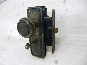 アンティークドアノブブラス ADB-04