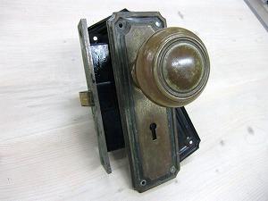 アンティークドアノブブラス ADB-09