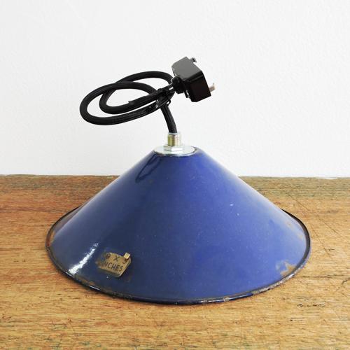アンティークランプシェード M(CORN BLUE)