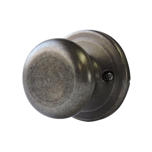 ドアノブ(空錠)ラスティックピューター