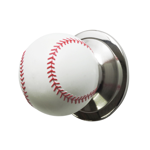 ドアノブ(空錠)野球ボール型