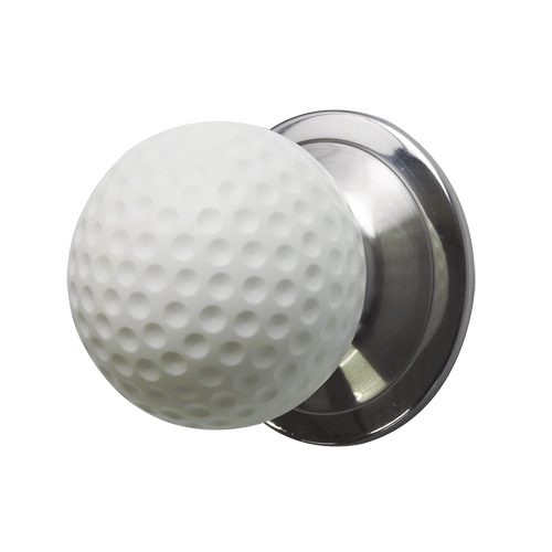 ドアノブ(空錠)ゴルフボール型