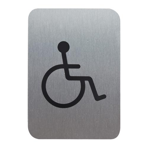 サインプレート 車椅子マーク (小)