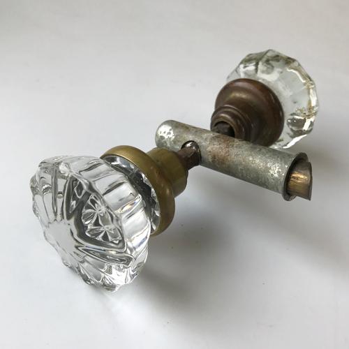 アンティークガラスドアノブ AGD-10