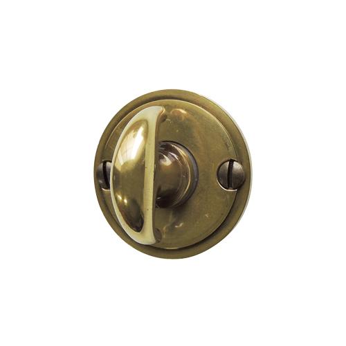 真鍮サムターン錠
