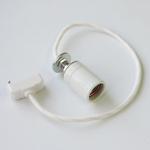 セラミックソケットコード(ホワイト) E26 50cm