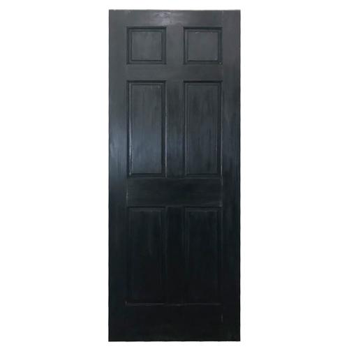 エイジングドア 6パネル(762)ブラック -即納品-