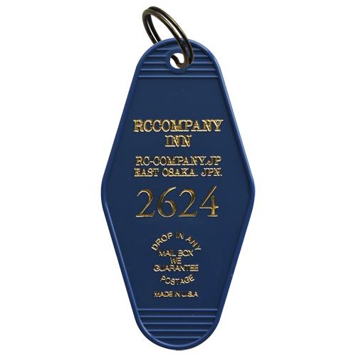 R.C.Company オリジナルモーテルキータグ(ブルー)
