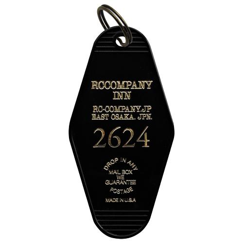 R.C.Company オリジナルモーテルキータグ(ブラック)