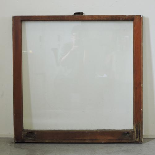 アンティークガラスウィンドウ GWR-A51 W758×H758×T34