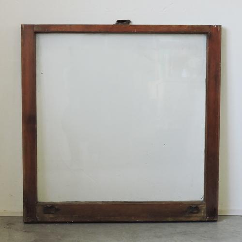 アンティークガラスウィンドウ GWR-A64 W760×H760×T34
