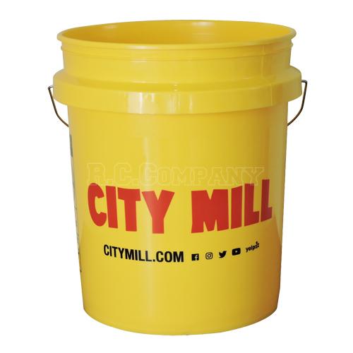 プラスチックバケツ CITY MILL -限定品-