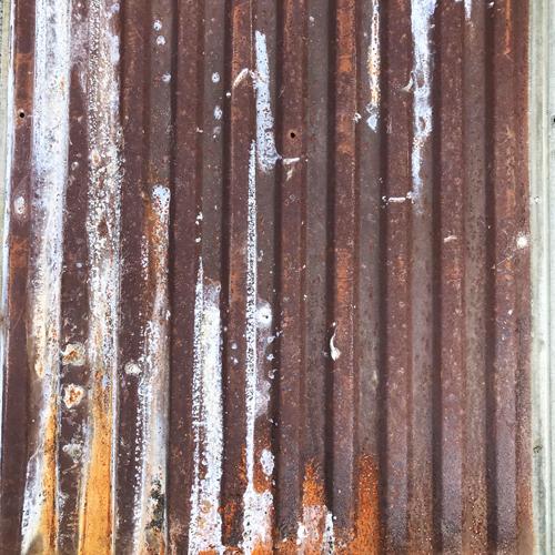 ティンパネル(錆びトタン板 B) 825×4880  引取専用