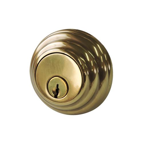 本締り錠 (サムターン付)真鍮製