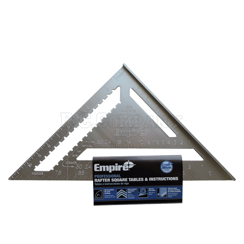 カネテ定規 L (アルミ) Empire