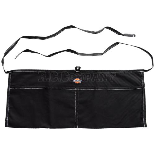 ワークエプロン 2ポケット Dickies ブラック