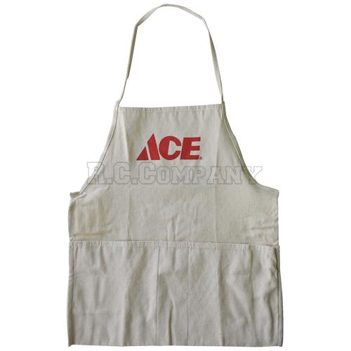BIBエプロン ACE ホワイト