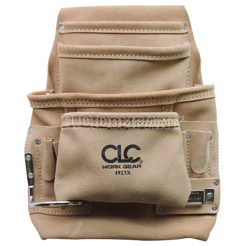 ワークエプロン 10ポケット CLC(スエード皮製)