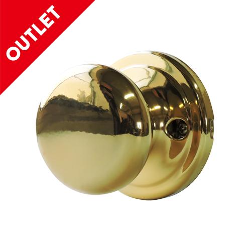 ドアノブ(空錠)真鍮メッキ OUTLET