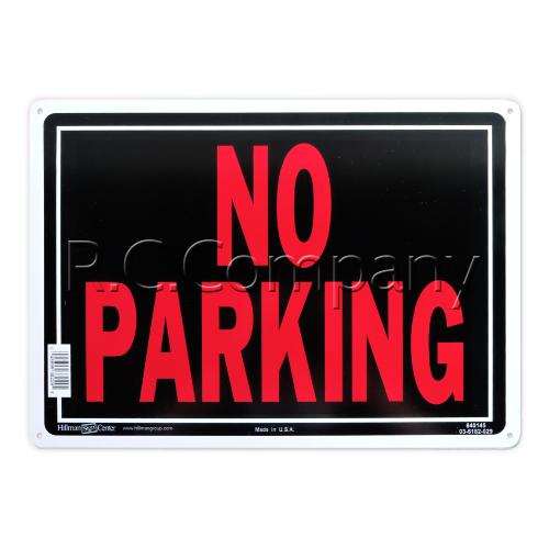 サインプレート NO PARKING(アルミ製)