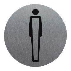 サインプレート MAN (小)丸型