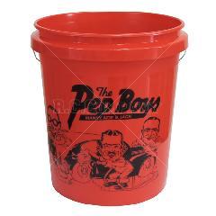 プラスチックバケツ THE PEP BOYS