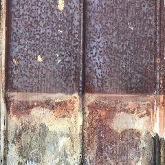 ティンパネル(錆びトタン板 A) 660×3680  引取専用